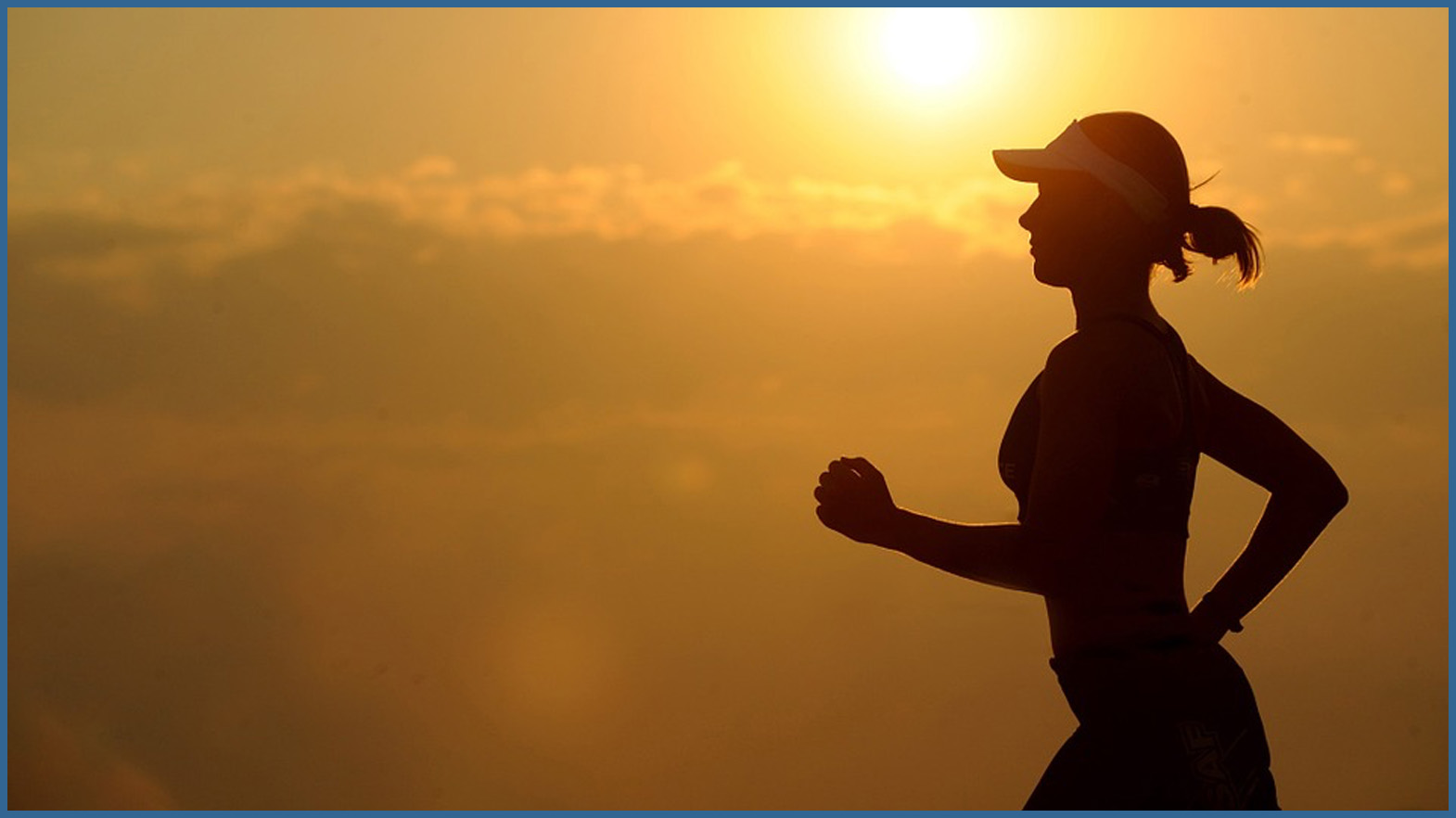 Woman running after receiving Chiropractic treatment from Dr. Jeanette M. Anderson at Anderson Peak Performance
